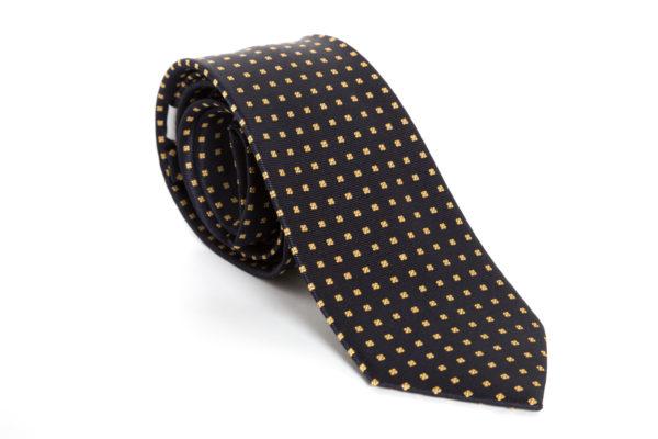 Cravatta Black and Yellow
