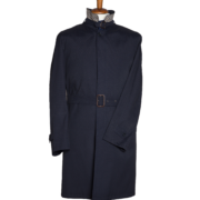 Trench Uomo Blu colletto