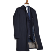 Trench Uomo Blu side