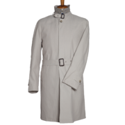 Trench Uomo Beige colletto