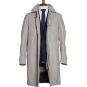 Trench Uomo Beige open