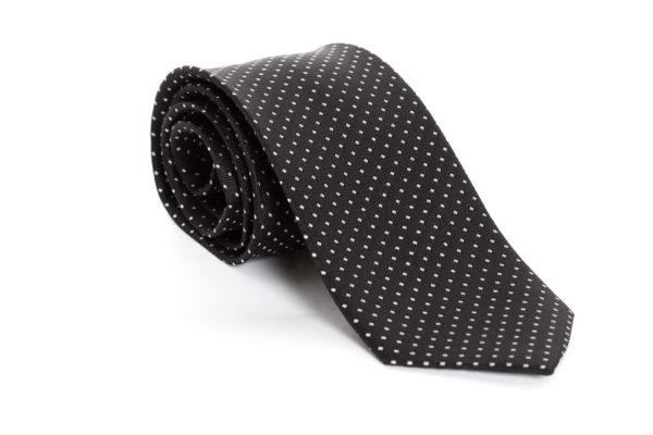 Cravatta Nero Pois