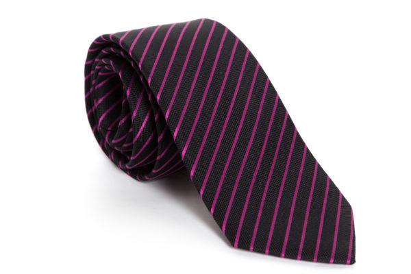Cravatta Listarella Pink